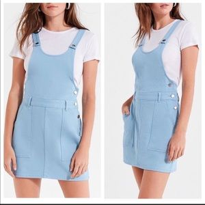 UO Urban Outfitters Overall Blue Dress Sz 4